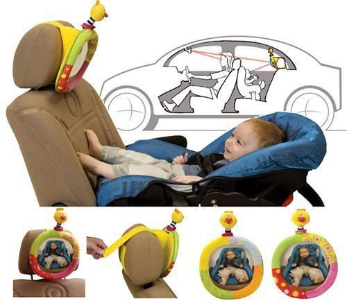 Taf Toys Kuk na mámu - zpětné zrcátko do auta cena od 410 Kč