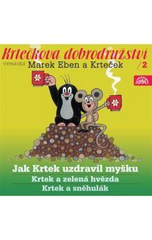 Zdeněk Müller: Krtečkova dobrodružství 2 (CD) cena od 82 Kč