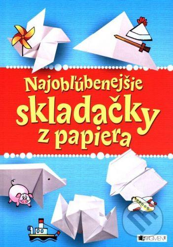 FRAGMENT Najobľúbenejšie skladačky z papiera cena od 70 Kč