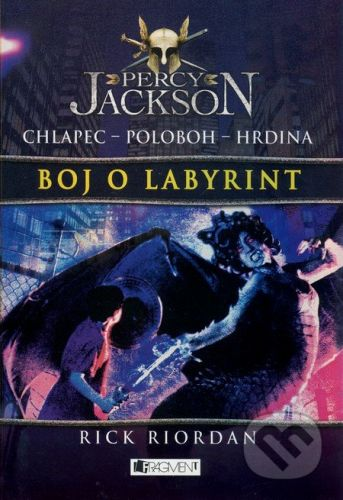 Rick Riordan: Percy Jackson Boj o labyrint cena od 325 Kč