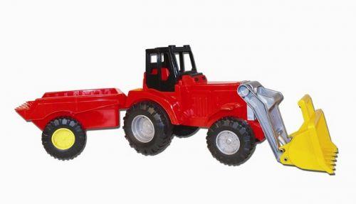 LENA Traktor se lžící a vozíkem cena od 640 Kč