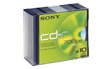 SONY 700B/80min/48x SLIM