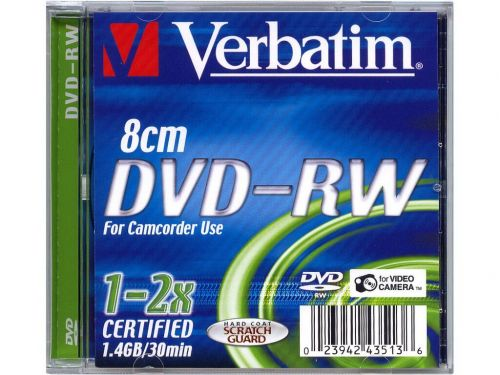 VERBATIM DVD+RW 1,4 GB cena od 267 Kč
