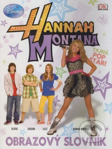 EGMONT Hannah Montana Obrazový slovník cena od 167 Kč