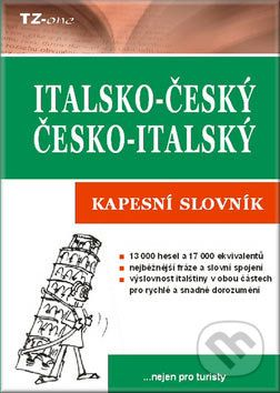 TZ-one Italsko-český, česko-italský kapesní slovník cena od 136 Kč
