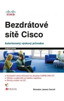 Brandon James Caroll: Bezdrátové sítě Cisco cena od 534 Kč