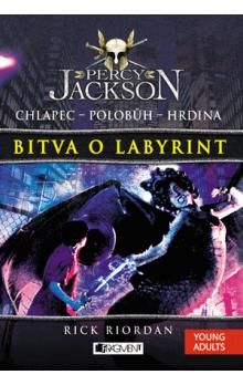 Rick Riordan: Percy Jackson 4 – Bitva o labyrint cena od 298 Kč