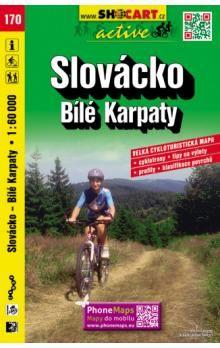Slovácko Bílé Karpaty 1:60 000 cena od 88 Kč