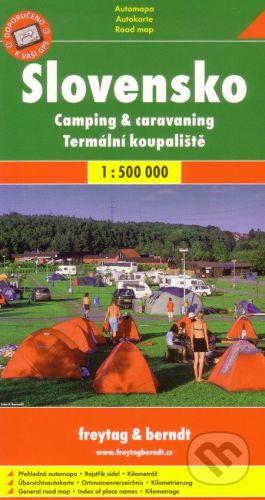 SHOCART Slovensko 1:500 000 cena od 60 Kč