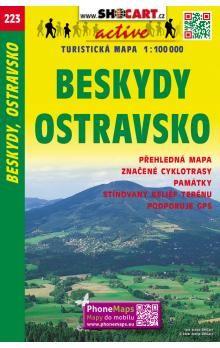 Beskydy Ostravsko 1:100 000 cena od 20 Kč