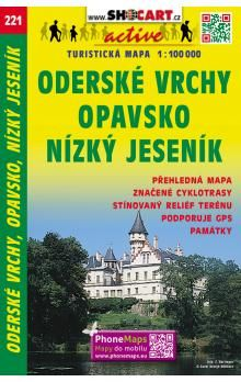 Opavsko Oderské vrchy Nízký Jeseník 1:100 000 cena od 20 Kč