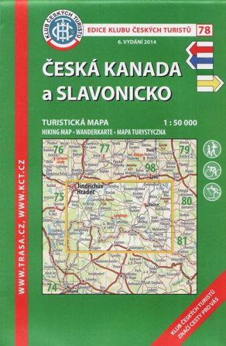 KČT 78 Česká Kanada a Slavonicko cena od 89 Kč
