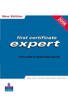 First certificate expert Teacher's resource book (New edition) cena od 683 Kč