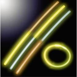 H+H Neonové světelné tyčinky 25ks dvoubarevné