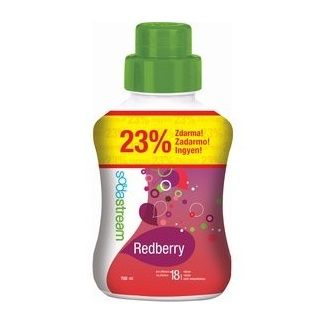 SodaStream červený Berry velký, 750 ml