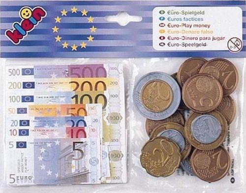 Euro bankovky a mince Klein cena od 88 Kč