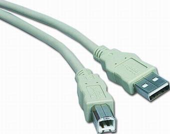 PremiumCord USB 2.0, A-B, 1m