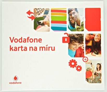 Vodafone karta na míru