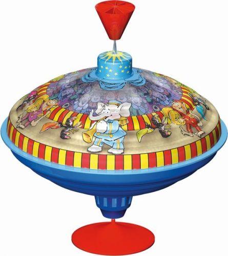 LENA Káča hrající kovová - cirkus, průměr 21cm cena od 217 Kč