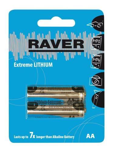 GP RAVER AA Extreme lithiová - 2 ks