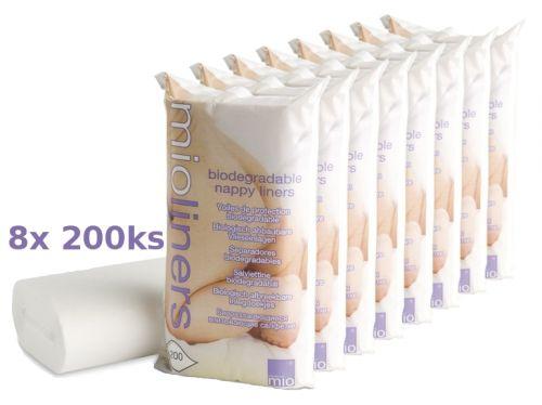 Bambinomio plenková separační vložka, 8x200ks
