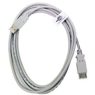 OEM USB 2.0 prodlužovací 4.5m A-A bílý