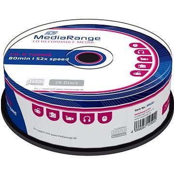 MediaRange CD-R 25ks cakebox