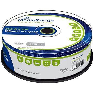 MediaRange DVD-R 25ks cakebox