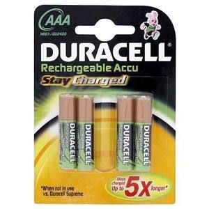 Duracell Stay Charged 800 AAA 4ks