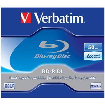 Verbatim BD-R Dual Layer 50GB 6x, 1ks v krabičce