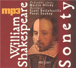 William Shakespeare: Sonety - CD mp3