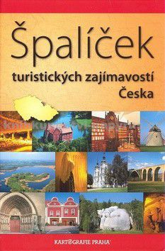 Kartografie PRAHA Špalíček turistických zajímavostí Česka cena od 268 Kč