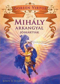 Doreen Virtue: Mihály arkangyal jóskárt cena od 325 Kč