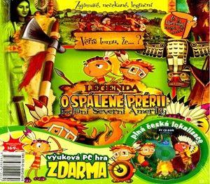 Kolektiv autorů: Legenda o spálené prérii + CD ROM cena od 145 Kč