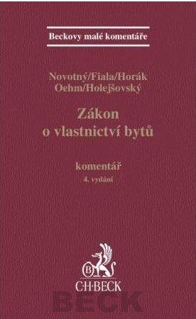 C.H.Beck Zákon o vlastnictví bytů. Komentář, 4. vydání cena od 884 Kč