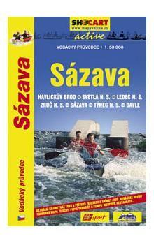 Sázava/vodácký průvodce 1:50T cena od 120 Kč
