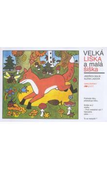 Alena Ladová: Velká liška a malá šiška - omalovánka cena od 22 Kč