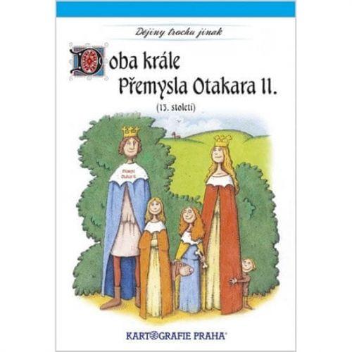 Kartografie PRAHA Doba krále Přemysla Otakara II. (13. století) cena od 55 Kč