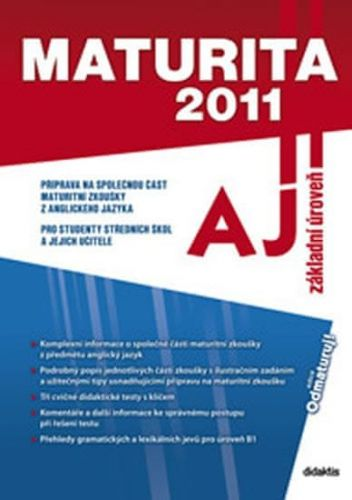 Juraj Belán: Maturita 2011 - Anglický jazyk cena od 68 Kč