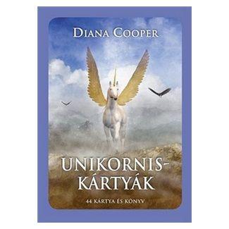 Diana Cooper: Unikorniskártyák cena od 244 Kč