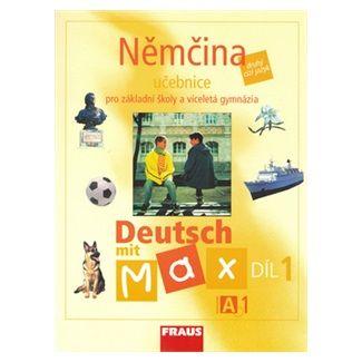 Olga Fišarová, Milena Zbranková: Němčina Deutsch mit Max A1/díl 1 cena od 111 Kč