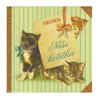Klára Trnková, Tereza Šebestíková: Naše kočička - památníček cena od 92 Kč