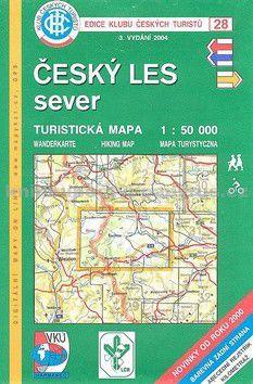 KČT 28 Český les sever cena od 60 Kč