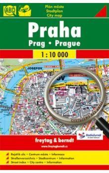 Freytag-Berndt Praha 1:10 000 - plán města