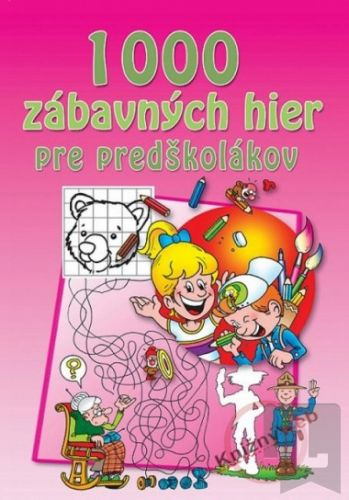 1000 zábavných hier pre predškolákov cena od 214 Kč