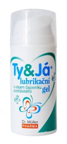 Dr. Müller Pharma Lubrikační gel TY a JÁ Tea Tree