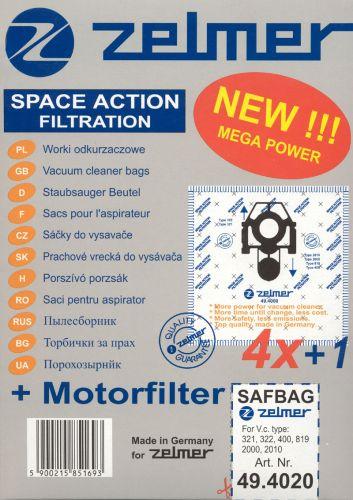 Zelmer Sáčky SAF-BAG (49.4220)