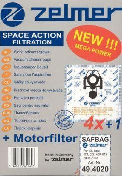 Zelmer 49.4120 MICROSÁČKY SAF-BAG 4+1