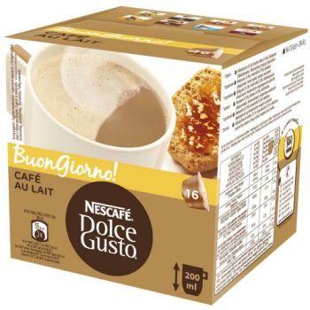 Krups Kapsle NESCAFÉ® Cafe AuLait 16 ks k Dolce Gusto™