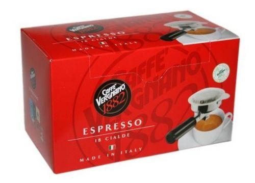 Vergnano Espresso pods 18ks cena od 115 Kč